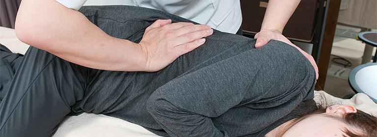 千代田区麹町の整体院「ほぐすん」の骨盤・骨格矯正コース