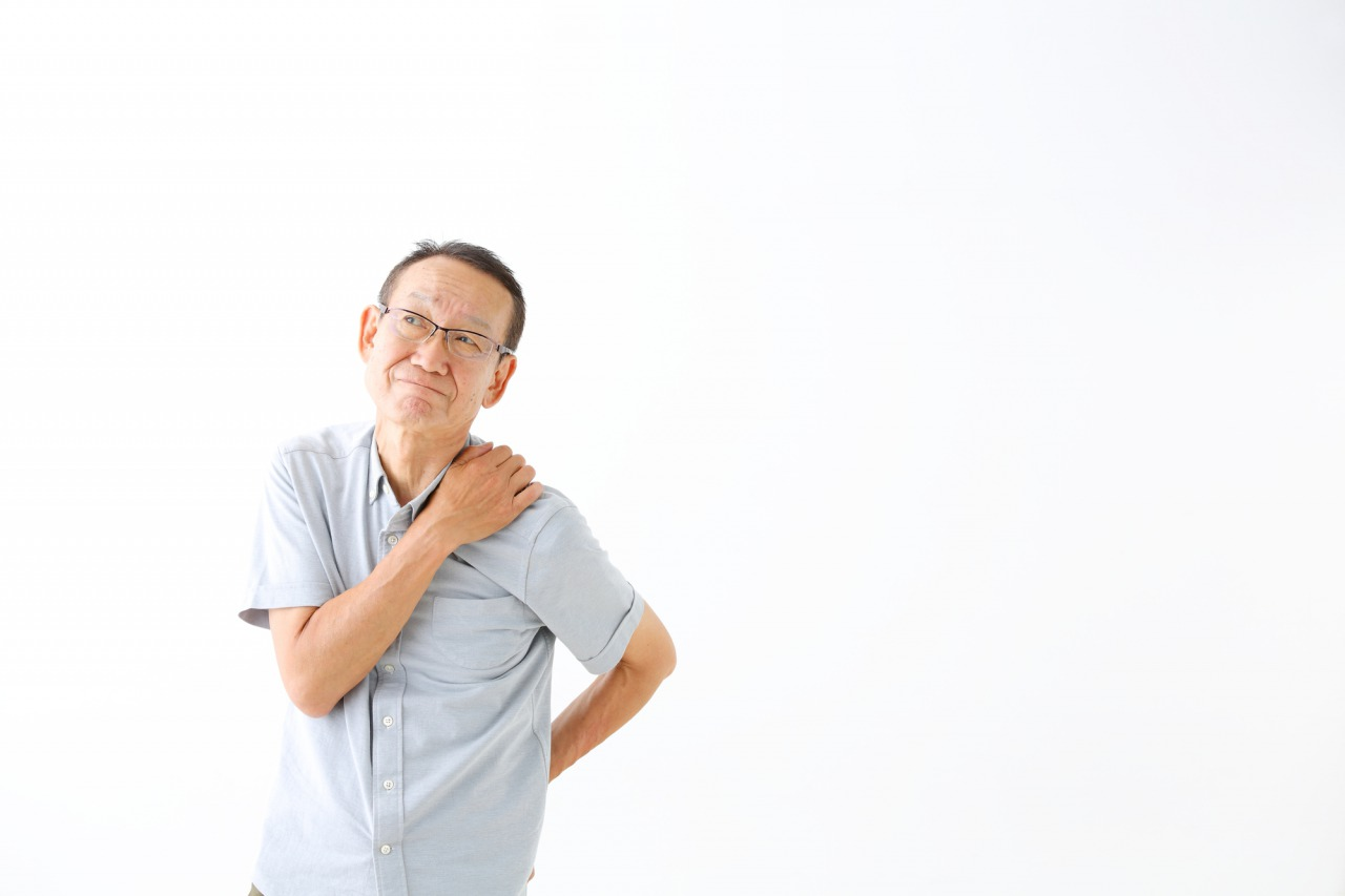 半蔵門の整体院「ほぐすん」が肩こり・四十肩・五十肩の症状を説明