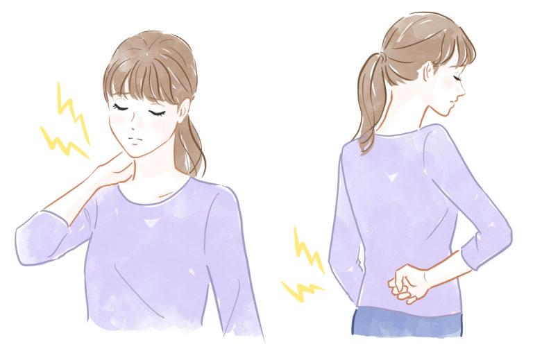 猫背から始まる巻き肩、反り腰の症状とリスク